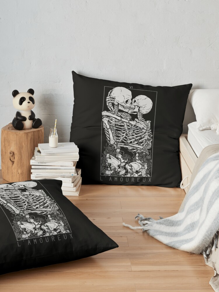 Alternate view of The Lovers Floor Pillow
