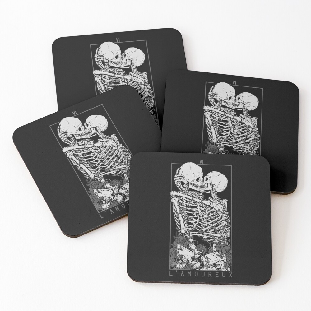 The Lovers Coasters (Set of 4)