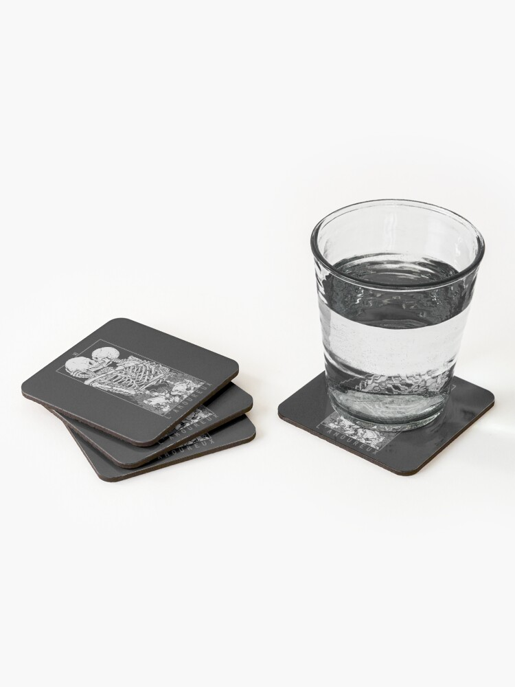 Alternate view of The Lovers Coasters (Set of 4)