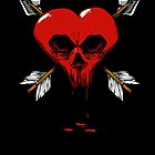 Gothic Skull Heart by styleuniversal