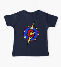 My Cute Little SuperHero Geek - Letter G Baby Tee