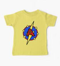 Netter kleiner SuperHero Geek - Superbrief A Baby T-Shirt