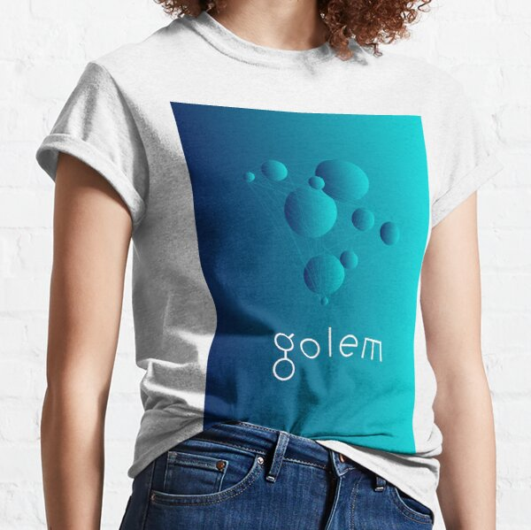 Golem Network Homepage Art Classic T-Shirt