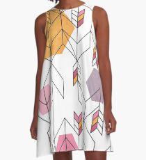 Unfinished  A-Line Dress