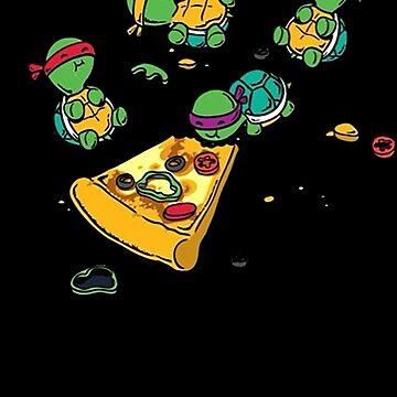 Baby Ninja Turtles T-Shirt by MasterCasual