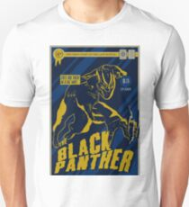The Black Panther Comic Book Design Unisex T-Shirt