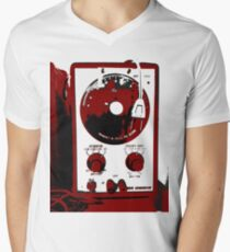 Retro Synth Audio Function Generator Men's V-Neck T-Shirt