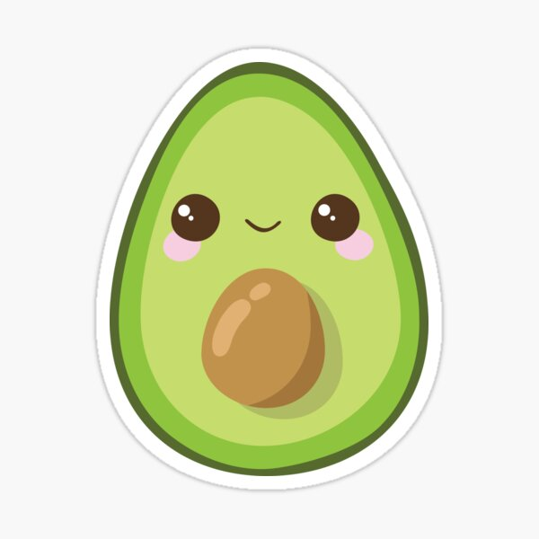 Cutest Avocado Ever Sticker