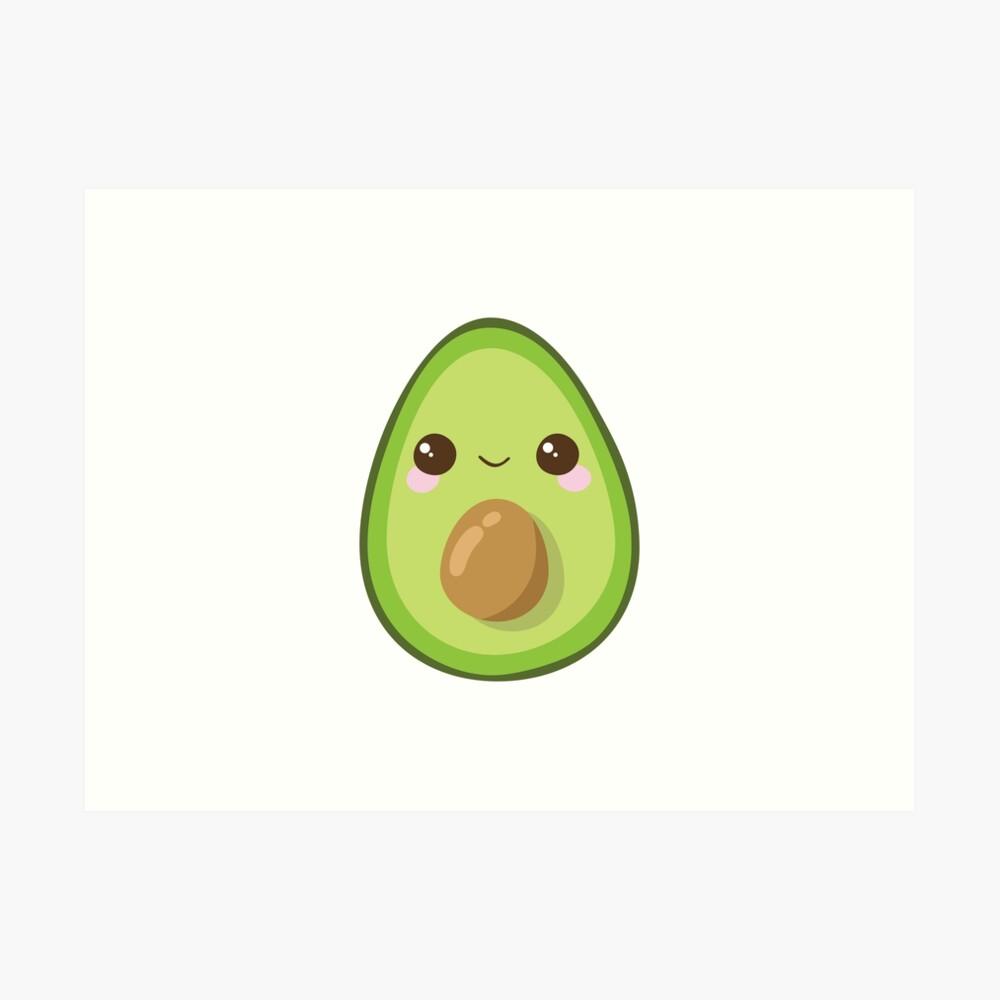 Cutest Avocado Ever Art Print