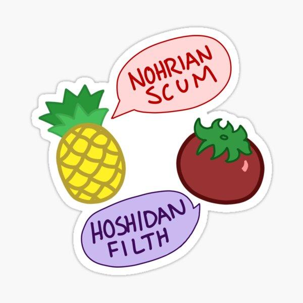 Nohrian Scum / Hoshidan Filth Sticker