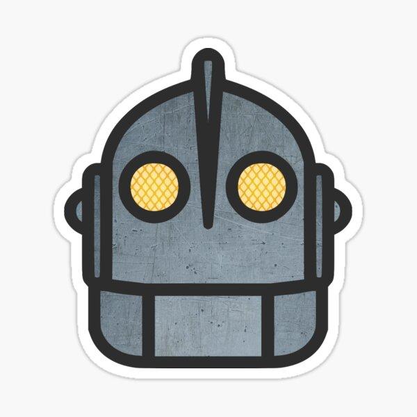 Iron Giant Head Sticker
