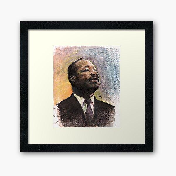 MLK Framed Art Print