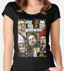 The-Big-Lebowski Women's Fitted Scoop T-Shirt
