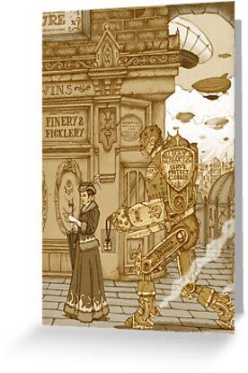 Mrs Morgan goes Shopping by Pete Katz