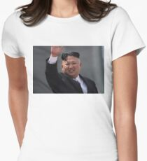 kim jong un Women's Fitted T-Shirt