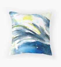 Moonlight wave. Floor Pillow