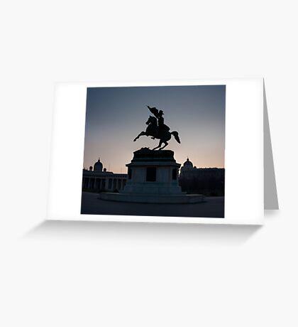 Vienna Heldenplatz - a historic square Greeting Card