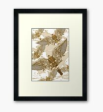 Peregrine Squadron on Maneuvers Framed Print