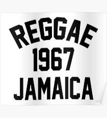 Reggae 1967 Jamaica Poster