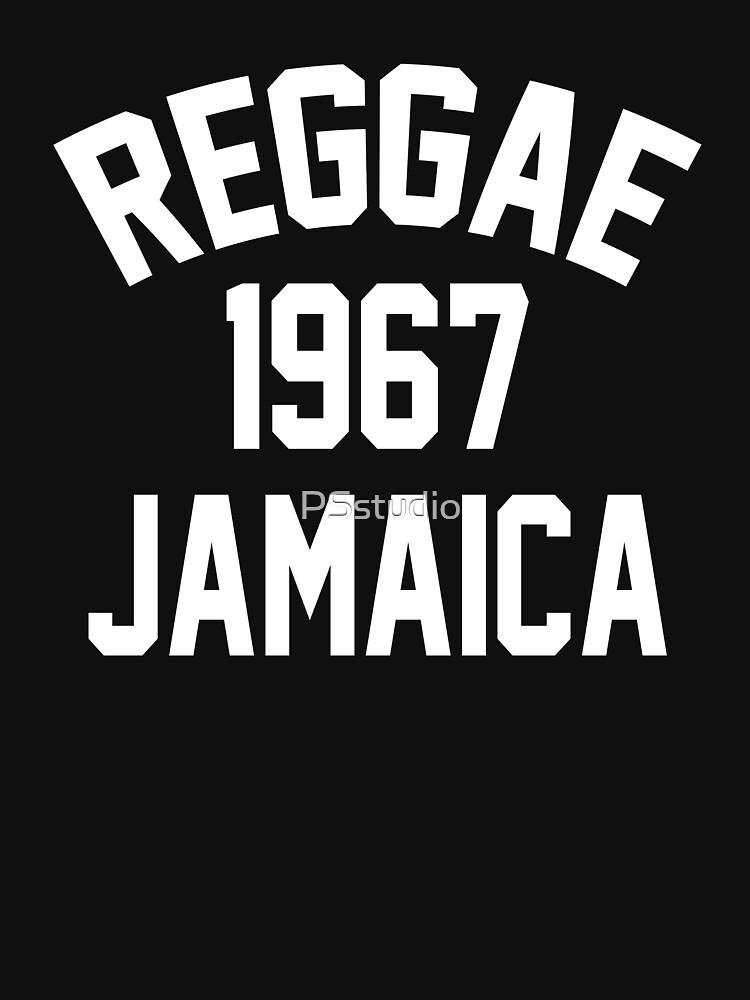 Reggae 1967 Jamaica by PSstudio