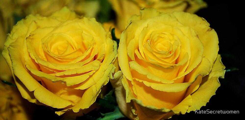 Yellow sisters by KateSecretwomen