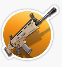 Fortnite Battle Royale - Scar Sticker