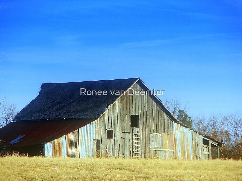 Okie Barn by Ronee van Deemter
