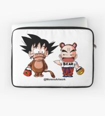 Kid Goku & Krillin Halloween Laptop Sleeve