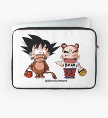 Kid Goku & Krillin Halloween Laptop Sleeve