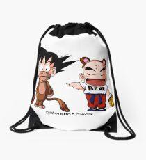 Kid Goku & Krillin Halloween Drawstring Bag
