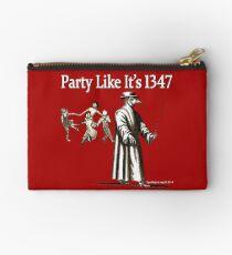 Party Like It's 1347 Studio Pouch