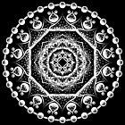 Mandala 002 White Edition by dyzy