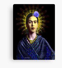Frida Kahlo with Halo (of a sort) - V1 Canvas Print