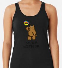 8-Bit Bear - Play with Me Women's Tank Top