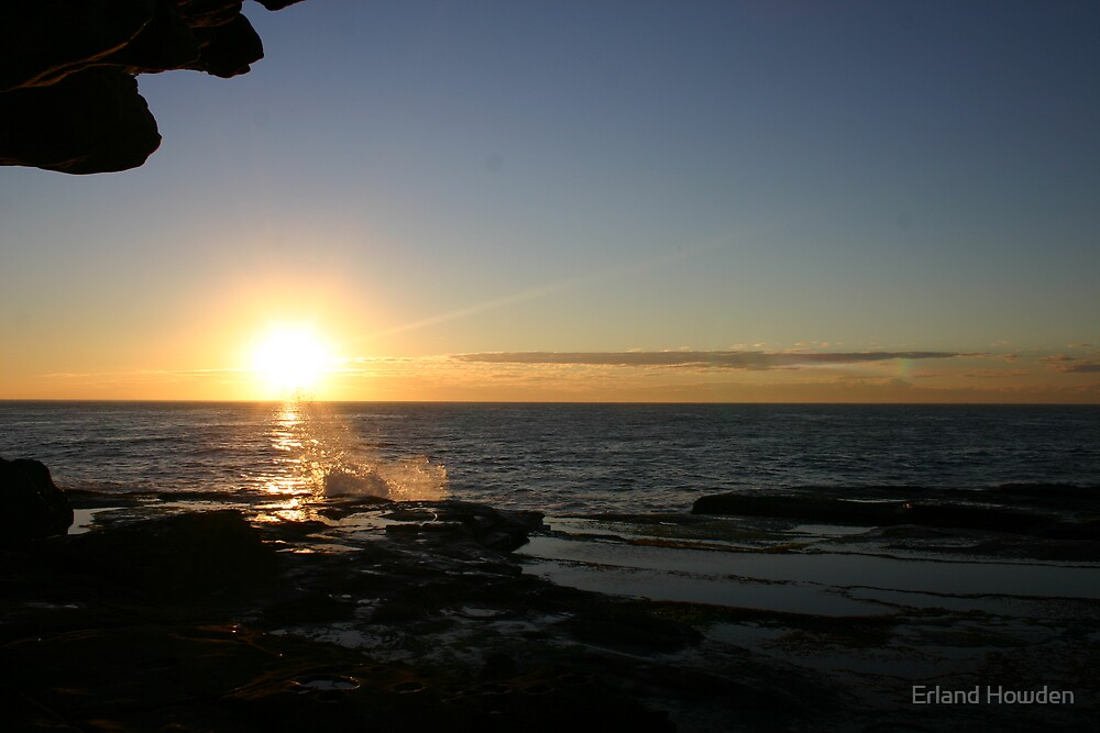 Sunrise, North Curl Curl by Erland Howden