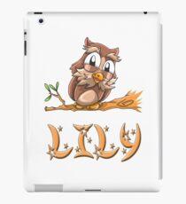 Lily Owl iPad Case/Skin