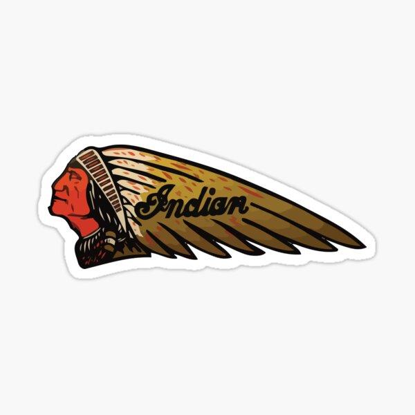 Conception de vélo Vintage Classic Indian Moto Sticker