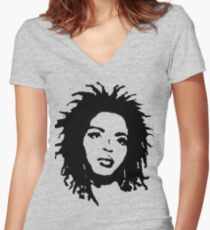 Ms. Lauryn  Women's Fitted V-Neck T-Shirt