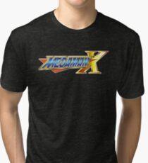 Megaman X Tri-blend T-Shirt