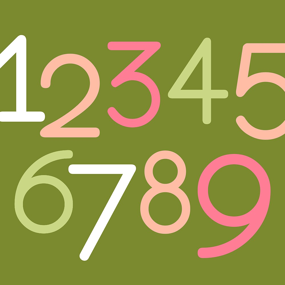Contemporary Baby | Numbers II by Dallas Drotz
