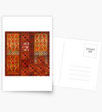 Postales Vintage textile patches