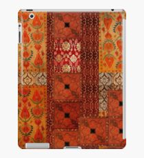 Vinilo o funda para iPad Vintage textile patches