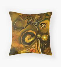 Peinture abstrait  Throw Pillow