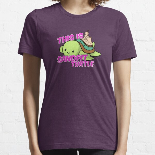 This is Sandpit Turtle Essential T-Shirt