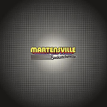 Martensville, Saskatchewan | Retro Stripes by retroready
