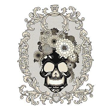 Ornate Skull by paviash