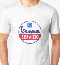Camiseta ajustada Mercancía Vespa Servizio