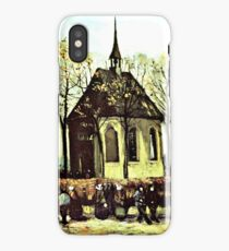 Van Gogh - Chapel at Nuenen iPhone Case/Skin