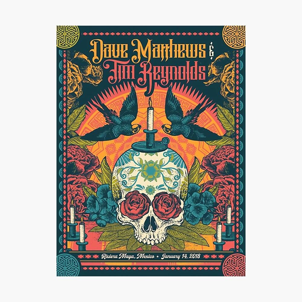 Dave Matthews Band 14. Januar 2018 Riviera Maya, Mexiko Fotodruck