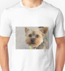Yorkie Natural Unisex T-Shirt